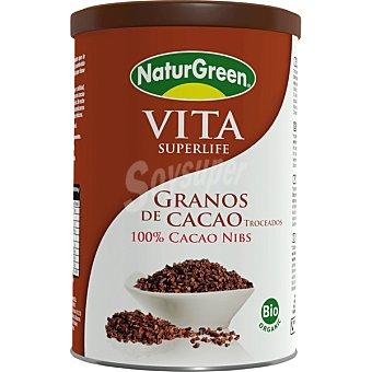 NATURGREEN Vita Superlife granos de cacao troceados ecológicos envase 200 g