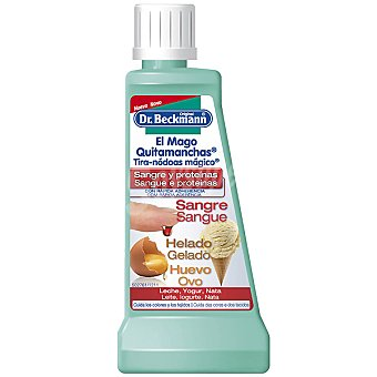 Dr Beckmann Quitamanchas especial para manchas de sangre y leche Bote 50 ml