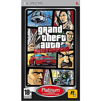 PSP Videojuego Grand theft auto: Liberty city stories 1 unidad