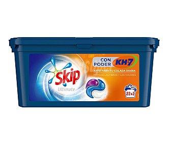Skip Detergente en cápsulas Ultim poder Kh7 Caja 22+2 dosis