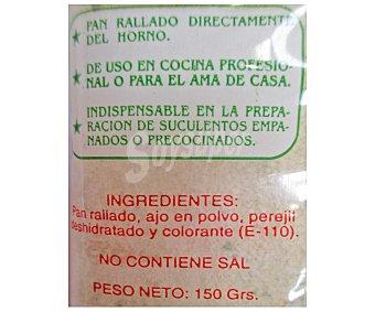 Las panaeras sevillanas Pan rallado con ajo y perejil 150 gramos