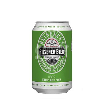 Heineken Cerveza Lata de 33 centilitros