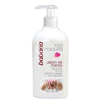 Babaria Jabón de manos Rosa Mosqueta 500 ml