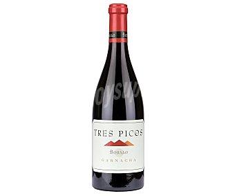 Tres Vino tinto con denominación de origen Campo de Borja picos 75 cl