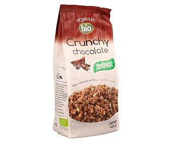 Santiveri Muesli crujiente con chocolate, agricultura ecológica 400 gramos