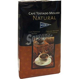 Hipercor Café natural molido Paquete 250 g