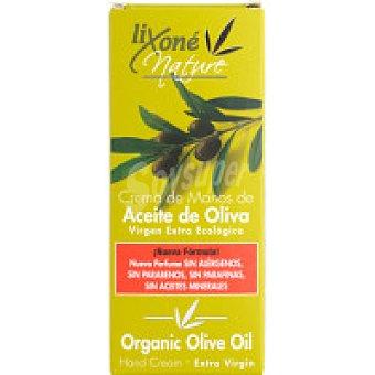 LIXONE Nature Crema de manos-uñas de oliva ecológico Tubo 75 ml