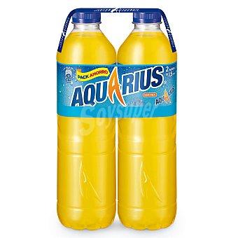 Aquarius Bebida isotónica de naranja Pack 2x1,5 litros