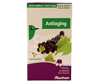 Auchan Antiaging (complemento alimenticio para una dieta equilibrada) 40 c