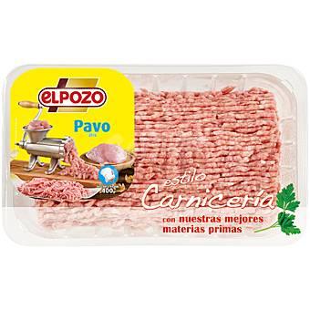 ElPozo Preparado de carne picada de pavo Bandeja 400 g