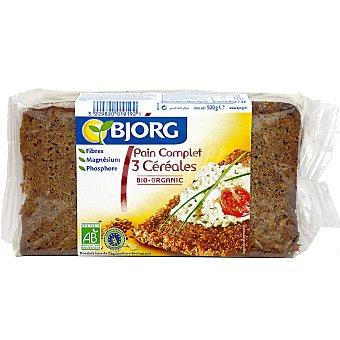Bjorg pan integral 3 cereales de agricultura biológica Paquete 500 g