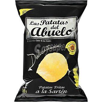 LAS PATATAS DEL ABUELO Patatas fritas chips con aceite de girasol Bolsa 150 g