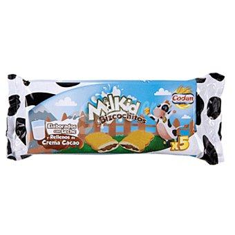 CODAN bizcochito milkid  paquete 150 gr