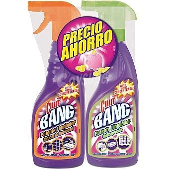Cillit Bang Limpiador antical & suciedad pistola + limpiador quitagrasas pistola 750 ml pack ahorro 750 ml