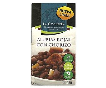 La Cocinera Alubias Rojas Con Chorizo 250g