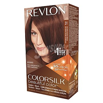 Revlon Tinte Colorsilk nº 31 Castaño Oscuro Cobrizo Revlon 1 ud