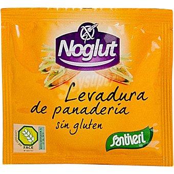 SANTIVERI NOGLUT Levadura de panadería sin gluten sobre 11 g Sobre 11 g