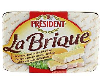 President Queso camembert La Brique Envase 200 g