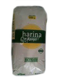 Hacendado Harina arroz Paquete 500 g