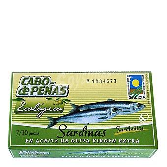 Cabo de Peñas Sardinillas en aceite de oliva virgen extra ecológico 60 g