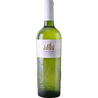 SEÑORIO DE BENIDORM Vino blanco chardonnay ecológico botella 75 cl 75 cl