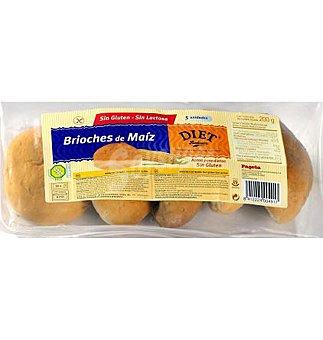 Diet Rádisson Brioches maiz s/gluten 200 G