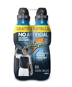Gatorade Refresco isotónico Cool Blue Pack de 4x50 cl