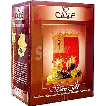 Cave Vino tinto de la tierra de Extremadura Brik 5 l