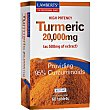 Tumeric envase 60 tabletas 20000 mg Lamberts