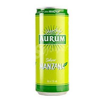 Aurum Cerveza sabor manzana Lata 33 cl