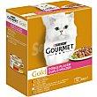 Comida húmeda para gatos adultos Gourmet Gold Doble Placer Mix 8x85 gr 85 gr Gourmet