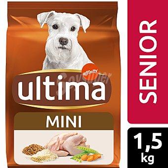 Ultima Affinity Alimento para perros mini senior Bolsa 1,5 kg