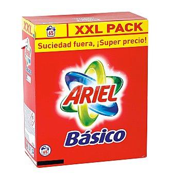 Ariel Detergente polvo Básico 60 lavados