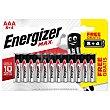 Pila Max +power AAA (lr3) Blister 8 unidades Energizer