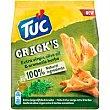 Cracks a las finas hierbas tuc, paquete 100 G Paquete 100 g Tuc