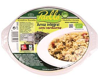 Coposa Arroz integral con verduras ecológico 300 g