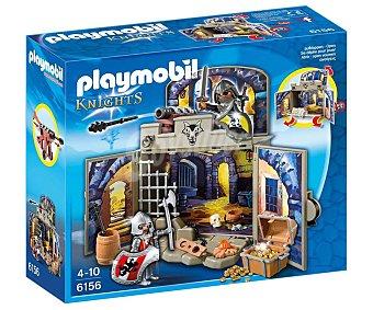Playmobil Cofre Caballeros del Tesoro, ref. 6156, incluye 2 figuras y accesorios playmobil