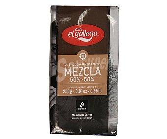 El Gallego Café molido mezcla 50/50 sabor Pleno 250 g