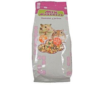 MIX MASCOTAS Comida para hamster y jerbos 800 gramos