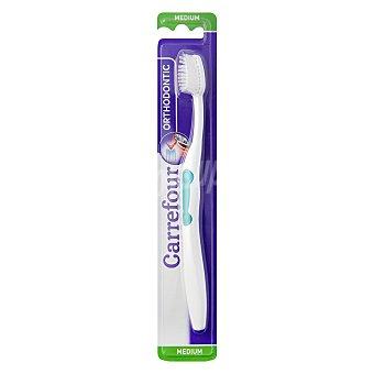 Carrefour Cepillo dental especifico para ortodoncia 1 ud