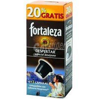 Fortaleza Café Despertar caja 12 monodosis