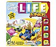 Juego de mesa infantil de estrategia The game of life junior, de 2 a 4 jugadores, hasbro  Hasbro
