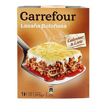 Carrefour Lasaña boloñesa 375 g