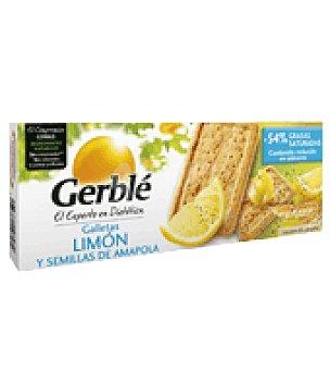 Gerble Galletas limón y semilla de amapola 200 g