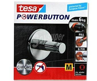 TESA Powerbutton Gancho Universal Medio 1 Unidad