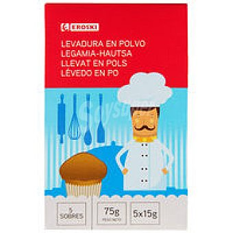 Eroski Levadura Paquete 75 g