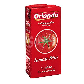 Orlando Tomate frito sin conservantes ni colorantes Brik de 350 g