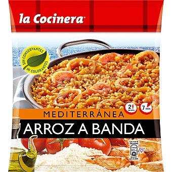 La Cocinera Arroz a banda Mediterránea 2 raciones Bolsa 500 g