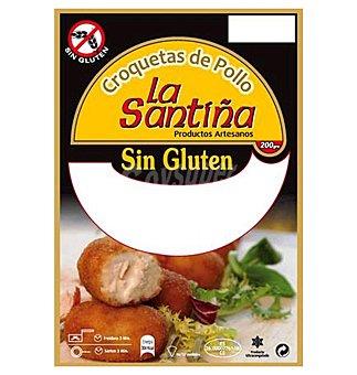 La Santiña Croquetas pollo sin gluten  200 g