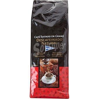Hipercor Café descafeinado en grano Bolsa 1 kg